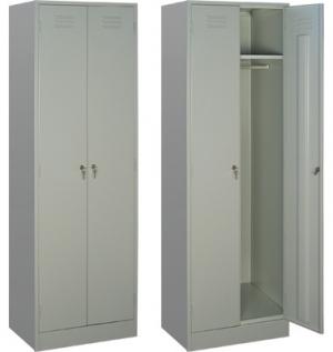 Шкаф металлический для одежды ШРМ - 22 купить на выгодных условиях в Сыктывкаре