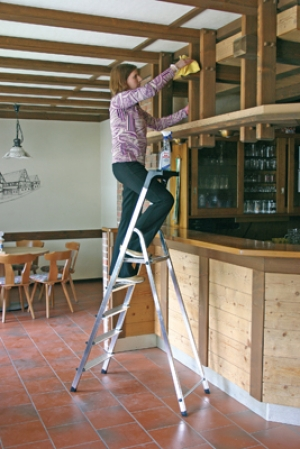 Лестница стремянка Safety 5 ступеней купить на выгодных условиях в Сыктывкаре
