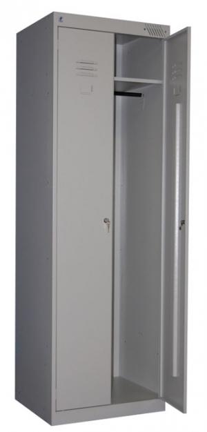 Шкаф металлический для одежды ШРК-22-800 купить на выгодных условиях в Сыктывкаре