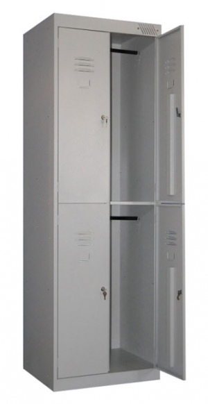 Шкаф металлический для одежды ШРK-24-800 купить на выгодных условиях в Сыктывкаре